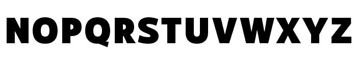 RNSSanzSC-Black Font LOWERCASE