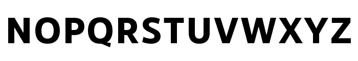 RNSSanzSC-Bold Font LOWERCASE