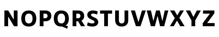 RNSSanzSC-ExtraBold Font UPPERCASE