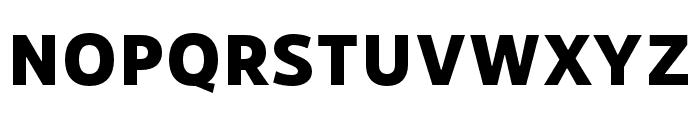 RNSSanzSC-ExtraBold Font LOWERCASE