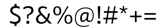 RNSSanzSC-Medium Font OTHER CHARS