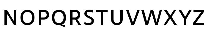 RNSSanzSC-Medium Font LOWERCASE