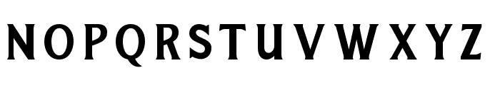 RaightonFontFour Font UPPERCASE