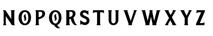 RaightonFontFour Font LOWERCASE