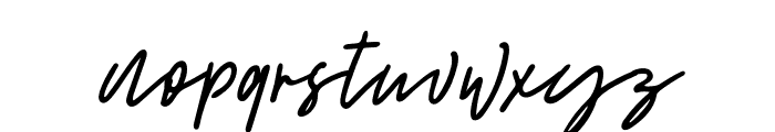 RattemHullax Font LOWERCASE