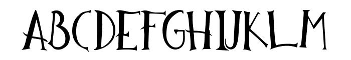 Reckless HandDrawn Font UPPERCASE
