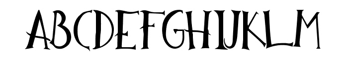 Reckless HandDrawn Font LOWERCASE