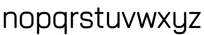 Rectory Semi Bold Font LOWERCASE