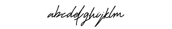 Redmond Fashion Font LOWERCASE