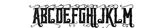 Reidfork Handdrawn Rough Font UPPERCASE