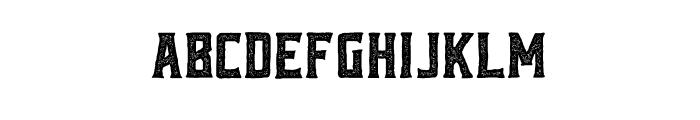 Reidfork Handdrawn Rough Font LOWERCASE
