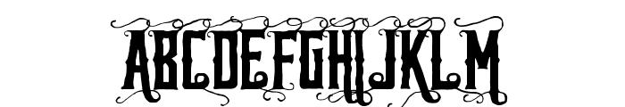 Reidfork Handdrawn Font UPPERCASE