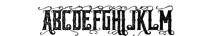 ReidforkHanddrawnRough Font UPPERCASE