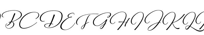 Reshuffle Alternate Regular Font UPPERCASE