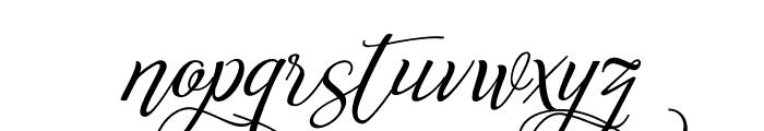 Reshuffle Alternate Regular Font LOWERCASE
