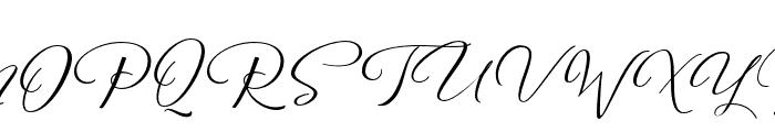 Reshuffle  Regular Font UPPERCASE