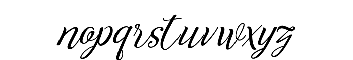 Reshuffle  Regular Font LOWERCASE