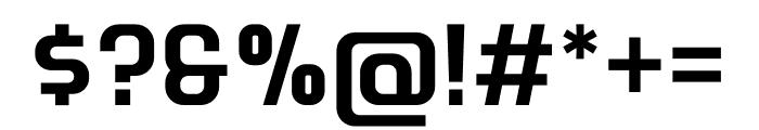 Retrohead Font OTHER CHARS