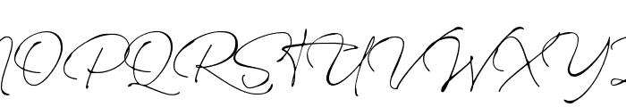 Rinstonia Regular Font UPPERCASE