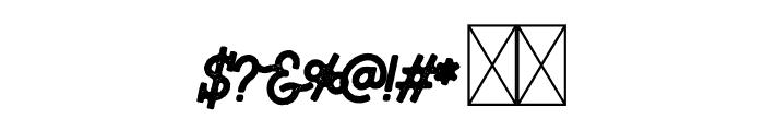 Riverfall 2 Textured Medium Font OTHER CHARS