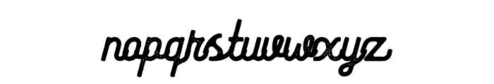Riverfall 2 Textured Medium Font LOWERCASE