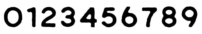 Riverfall Textured Sans 1 Font OTHER CHARS