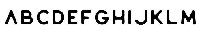 Riverfall Textured Sans 1 Font UPPERCASE