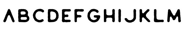 Riverfall Textured Sans 1 Font LOWERCASE