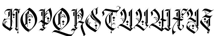 RockSands Regular Font UPPERCASE