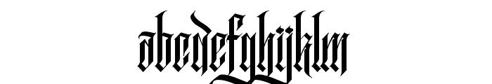 RockSands Regular Font LOWERCASE