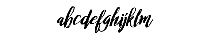 RofiTaste-Italic Font LOWERCASE