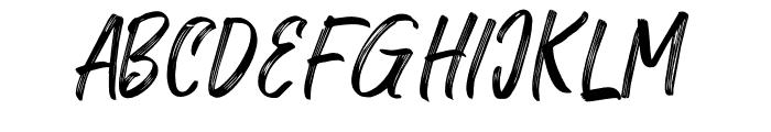 RolleteQakuUppercase-Regular Font LOWERCASE