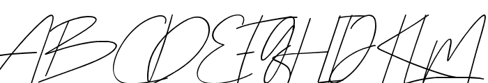 Rottles Script Font UPPERCASE