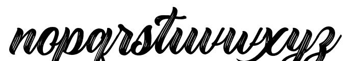 Rustling Trees Regular Font LOWERCASE