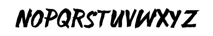 SATIRO Regular Font UPPERCASE