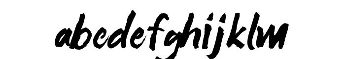 SATIRO Regular Font LOWERCASE