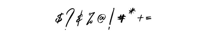 Saintrop Basic Basic Font OTHER CHARS