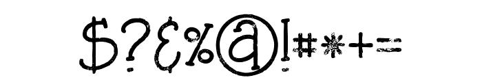 Saladagrunge Font OTHER CHARS