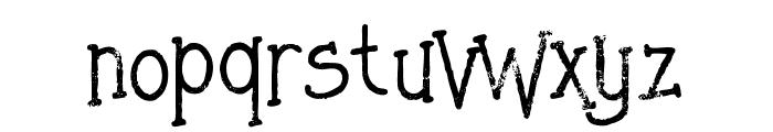 Saladagrunge Font LOWERCASE