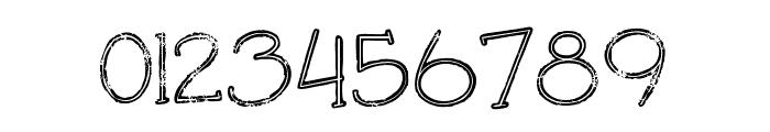 Saladalinegrunge Font OTHER CHARS