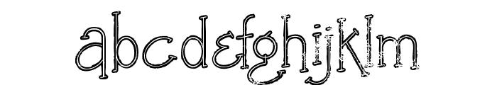 Saladalinegrunge Font LOWERCASE