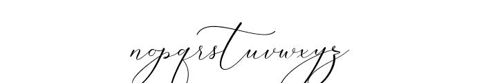 SalmaAliandaScript Font LOWERCASE
