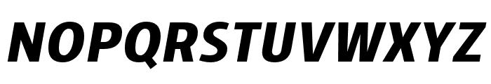 Skrinia Black Italic Font UPPERCASE