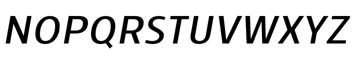 Skrinia Bold Italic Font UPPERCASE