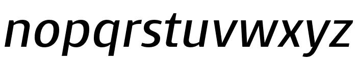 Skrinia Bold Italic Font LOWERCASE