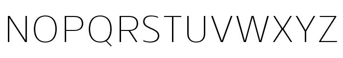 Skrinia Extralight Font UPPERCASE