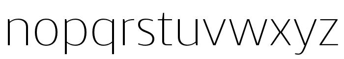 Skrinia Extralight Font LOWERCASE