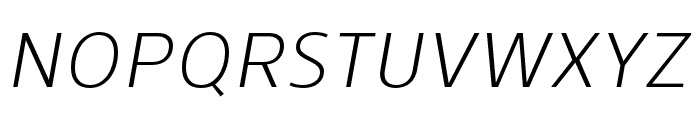 Skrinia Italic Font UPPERCASE