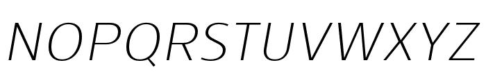Skrinia Light Italic Font UPPERCASE