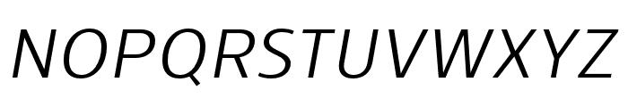Skrinia Medium Italic Font UPPERCASE